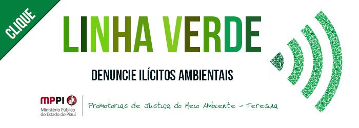 Banner do projeto Linha Verde. Clique para acessar.