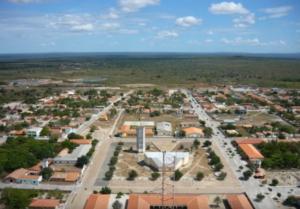 Vista área da cidade de São João da Fronteira