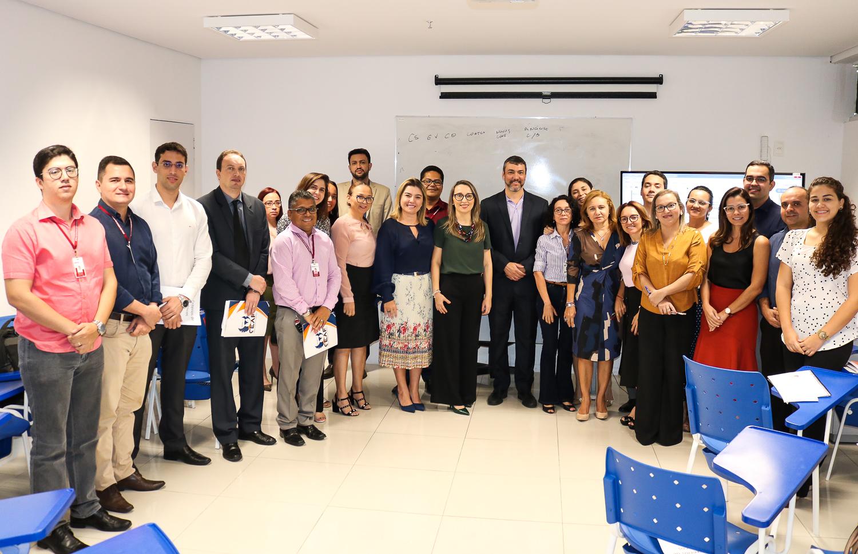 Participantes da oficina de Gestão de Riscos