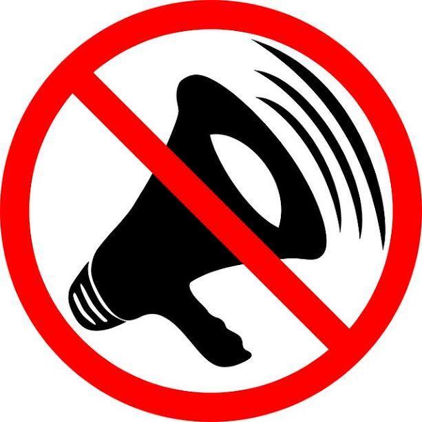 Simbolo de som silenciado