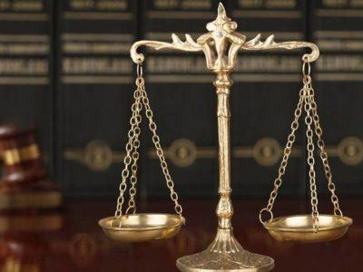Foto de uma balança representando a Balança da Justiça símbolo do Poder Judiciário