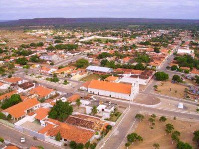 Imagem aérea do município de São João do Piauí
