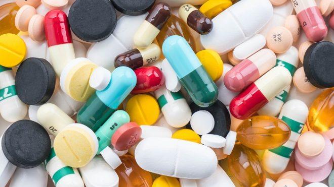 imagem de vários comprimidos