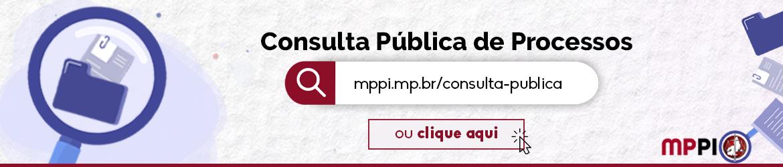 Consulta pública de processos
